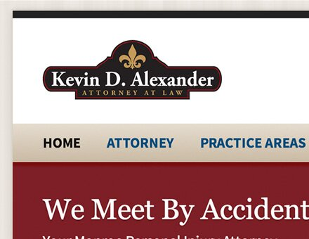 Lawyer / attorney website design