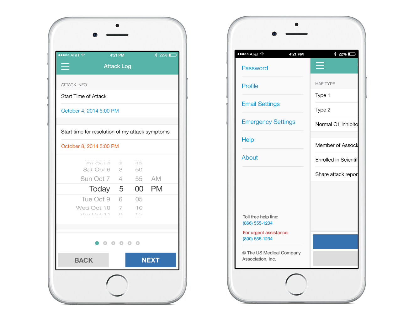 Medical iPhone App Design